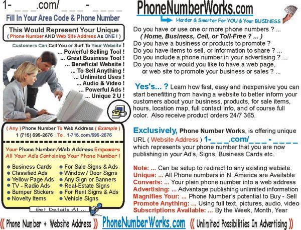 GoTo PhoneNumberWorks.com
